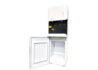 105L-BGS Free Standing Touchless POU Water Dispenser With 16L Fridge